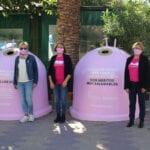 Presentada la campaña 'Recicla vidrio por ellas', con motivo del Día contra el Cáncer de Mama