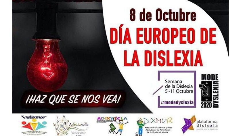 Jumilla volverá a hacer visible la dislexia iluminando de rojo el Ayuntamiento y la Plaza del Camionero
