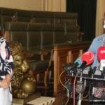 La alcaldesa y la coordinadora del Centro de Salud insisten en la concienciación ciudadana frente al covid19
