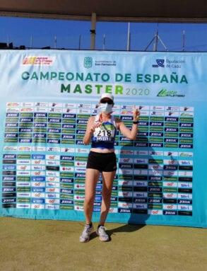 Medalla de bronce para María José Escoda