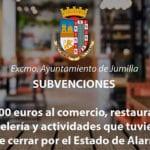 Juana Guardiola ha informado sobre las bases para el otorgamiento de subvenciones al comercio, restauración y hostelería de Jumilla