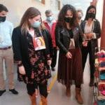 La consejera de Educación y Cultura, Esperanza Moreno, visita el nuevo colegio Príncipe Felipe de Jumilla