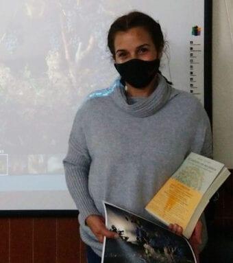 Juana Osete Gómez, en la categoría de Pruebas de Acceso a la Universidad