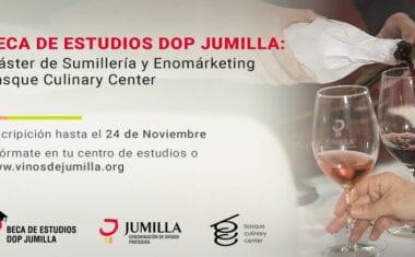 El Consejo Regulador de la DOP Jumilla inicia el proceso de selección para el máster de Sumillería y Enomarketing