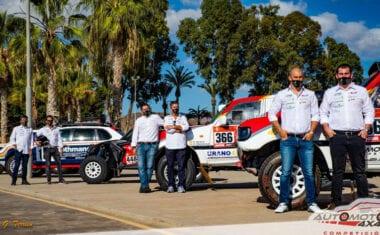 El jumillano Antonio Tárraga estará en el Rally Dakar 2021 con el equipo Automotor 4×4 Competición