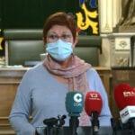 """La alcaldesa de Jumilla afirma que """"sin el compromiso de cada ciudadano el sacrificio de los hosteleros no servirá de nada"""""""