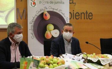 La Comunidad presenta la campaña de promoción de Pera DO de Jumilla para incentivar su consumo