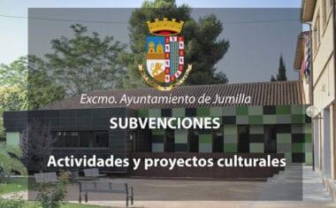 Aprobada concesión de 19.000 euros en subvenciones a proyectos culturales