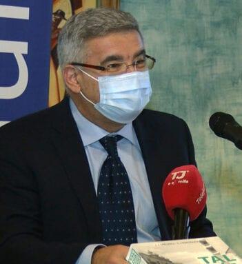 Juan Antonio Tomás Frutos, encargado de presentar el libro
