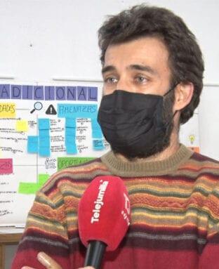 Miguel Trigueros, portavoz de la plataforma Salvemos Nuestra Tierra