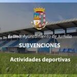 Publicada propuesta de concesión de 19.000 euros en subvenciones a actividades deportivas