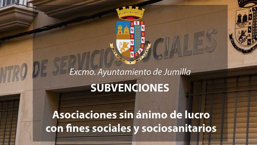 Las asociaciones con fines sociales recibirán más de 36.000 euros en subvenciones