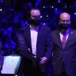 Bernardo Rojas recoge el premio de Gil Soundtrack Award 2020