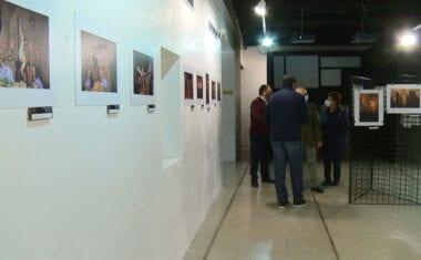 Inaugurada la exposición 'Incienso y silencio'