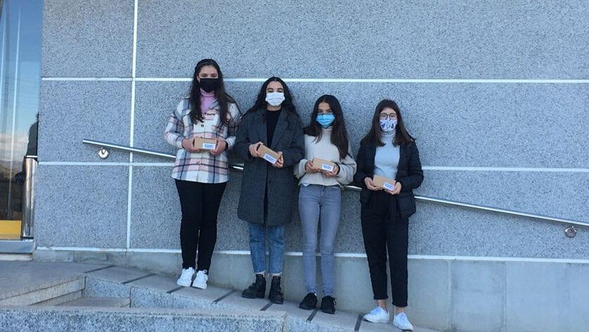 Cuatro alumnas del Cruz de Piedra se llevan el premio a la Mejor Edición Digital del concurso 'Mi periódico Digital 2020'