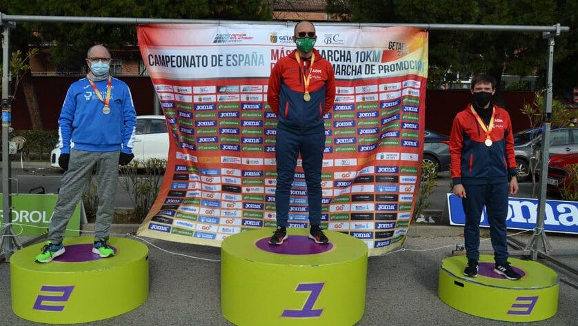 Medalla de plata para Juan Paya en el Campeonato de España Máster de Marcha