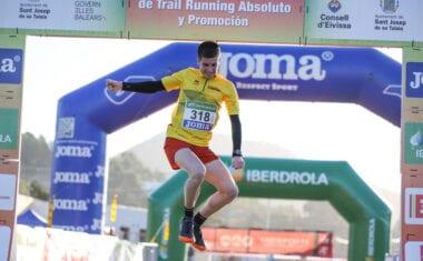 Tercera posición para Mario Monreal en el Campeonato de España por Federaciones Autonómicas de Trail Running