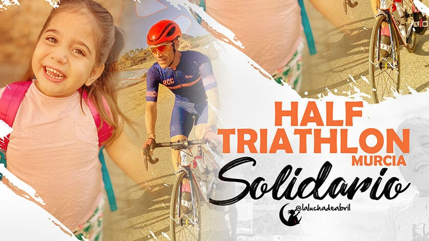 """Half Triathlon Murcia Solidario por """"La Lucha de Abril"""""""