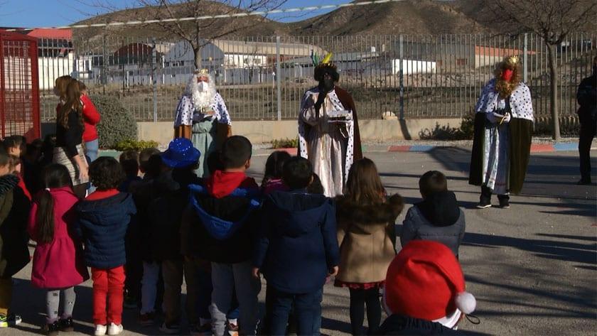 Visita de los Reyes Magos al CEIP San Francisco