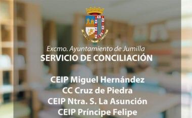 Abierto el plazo de inscripciones para el Servicio de Conciliación en cuatro centros educativos
