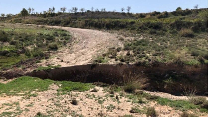 Aprobados los planes de seguridad de las obras de reparación del camino de la rambla de La Raja y un muro de contención en La Zarza