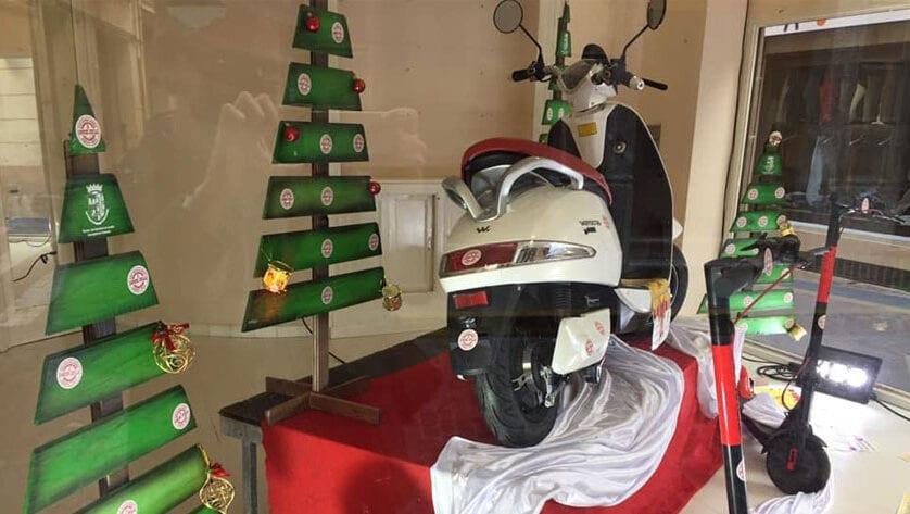"""El 9.570 ha sido el agraciado con la moto eléctrica de la campaña """"El Comercio Local no te vende la moto…¡¡¡Te la Regala!!!"""""""
