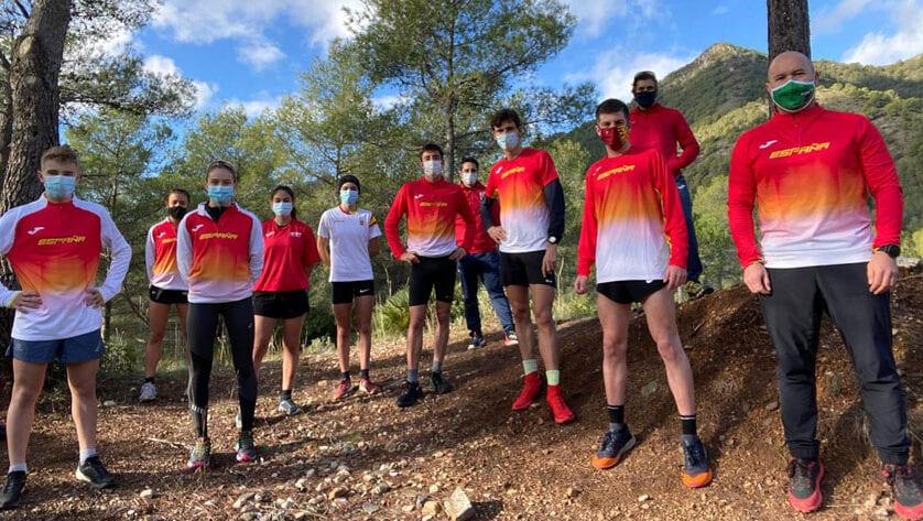 Mario Monreal participa en la concentración de Trail Running de la Federación Española de Atletismo