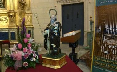 Misa en honor a San Antón