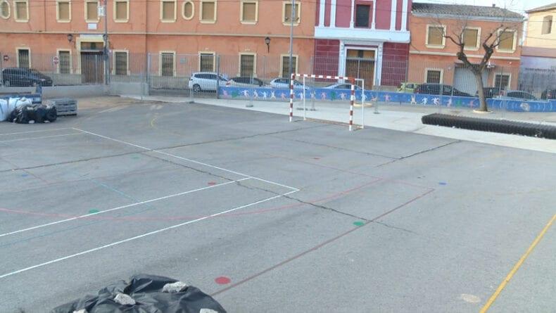 Remodelación de las pistas deportivas del colegio de La Asunción