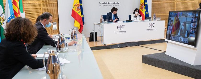 Reunión del Consejo Interterritorial de Salud