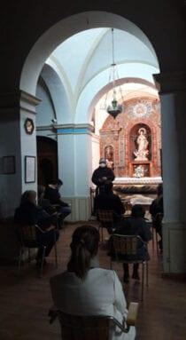 Acto de Oración dirigido por el Padre Francisco Oliver