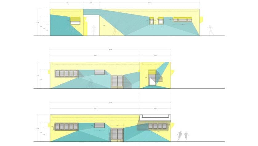 Abierto el proceso de licitación para la construcción de un nuevo edificio de vestuarios y aseos en el Polideportivo La Hoya