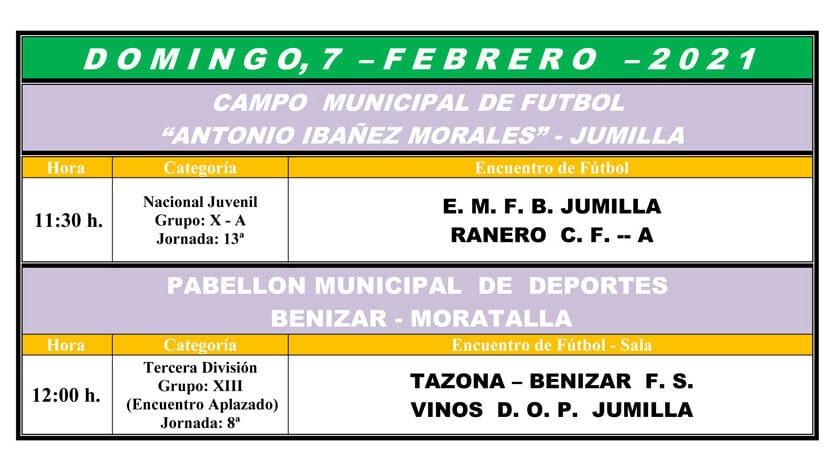 La EMFB Jumilla recibirá en casa al Ranero y el Vinos DOP Jumilla FS recuperará la octava jornada en Benizar