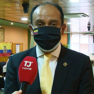 Miguel Ángel Macías Saltos, Cónsul de Ecuador en la Región de Murcia