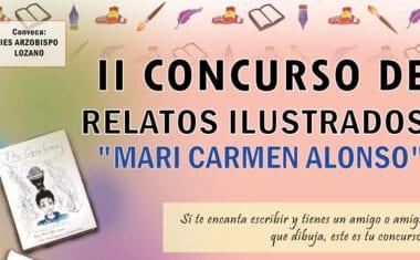 """El IES Arzobispo Lozano convoca el II Concurso de Relatos Ilustrados """"Mari Carmen Alonso"""""""