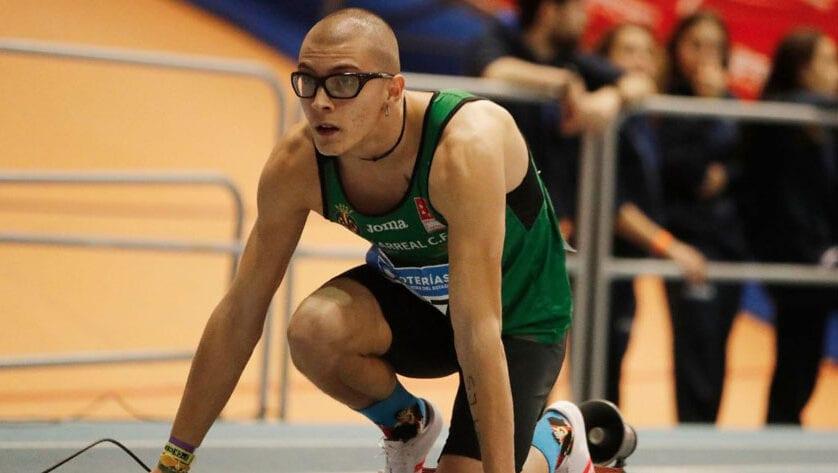 Juan González se proclama Campeón de España Sub-23 en los 200 m lisos
