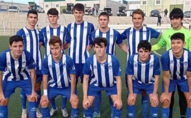 Los juveniles de la Escuela de Fútbol sacan un valioso punto en Lorquí