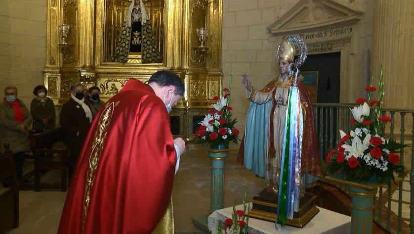 Misa en honor a San Blas