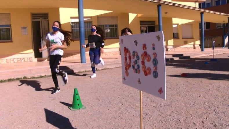 Participación en la carrera solidaria 1 Km 1 Vida