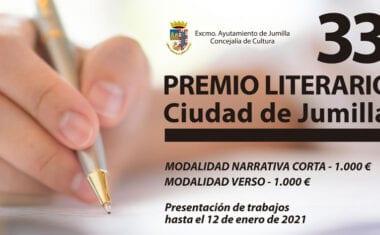 Presentados 924 trabajos al XXXIII Premio Literario Ciudad de Jumilla