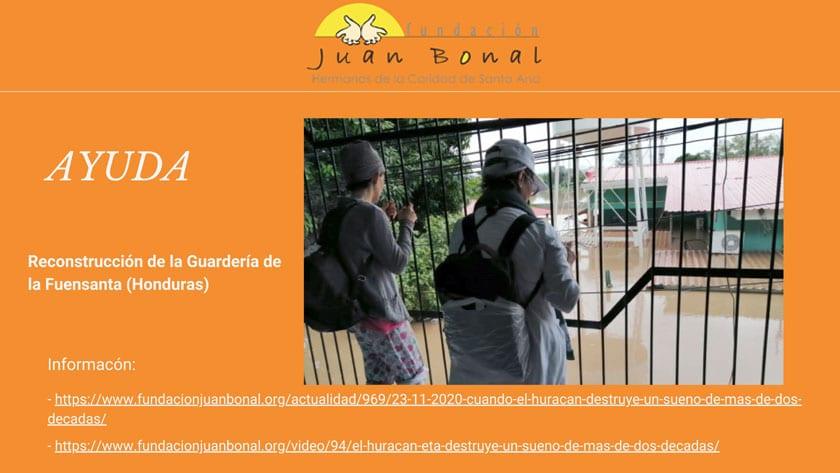 Reto solidario para la reconstrucción de una guardería en Honduras