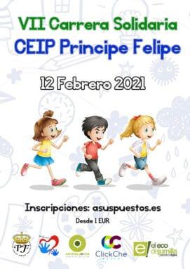 Séptima Carrera Solidaria CEIP Príncipe Felipe