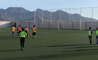 Vuelta a los entrenamientos para el Jumilla ACF y las bases de la Escuela de Fútbol