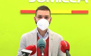 """Vox Jumilla denuncia el supuesto maltrato del Gobierno Local a los comerciantes """"no esenciales"""" del mercado de los martes"""