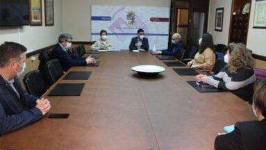 Reunión del eurodiputado, Marcos Ros, con el Equipo de Gobierno del Ayuntamiento de Jumilla