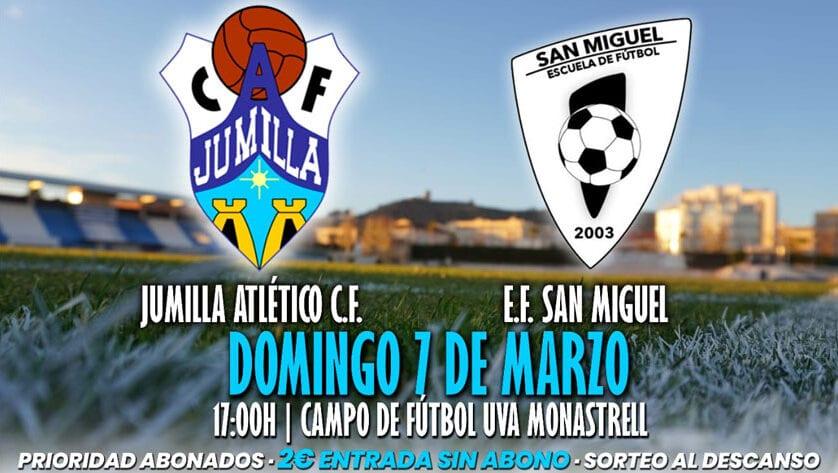 El Jumilla ACF recibe en casa a la EF San Miguel de Molina