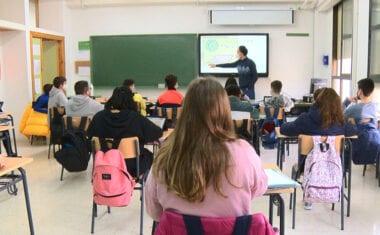 Los alumnos de segundo de Bachillerato volverán a la presencialidad total el próximo lunes