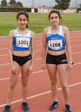 Fátima Hernández y Laura Mora