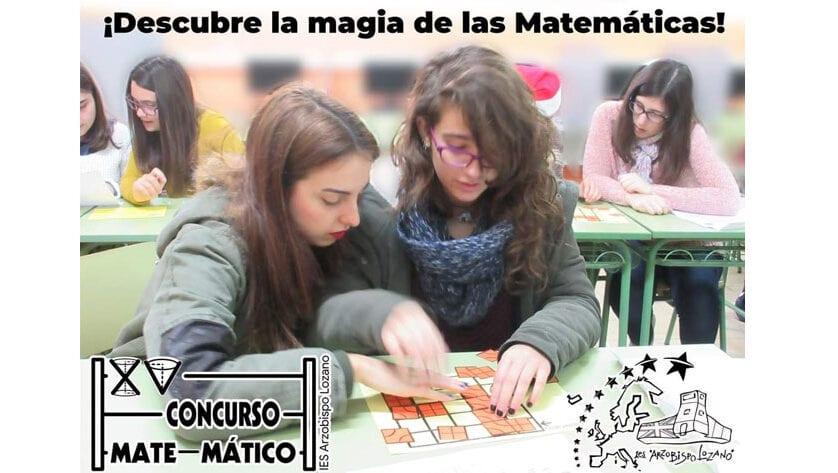 Ya ha comenzado la primera fase del XV Concurso Matemático del IES Arzobispo Lozano
