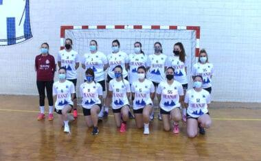 Partido muy disputado en 1ª Nacional Femenina entre el Club Balonmano Jumilla y Bullas